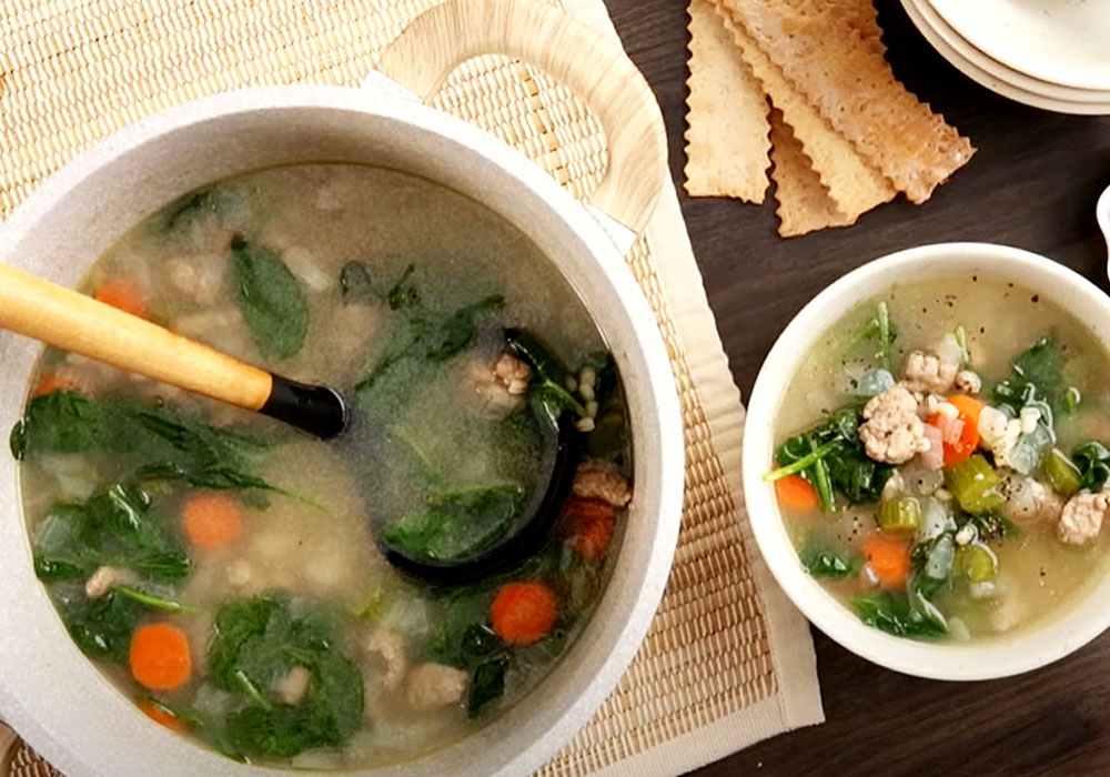 Овощной суп с индейкой - пошаговый рецепт, фото 1