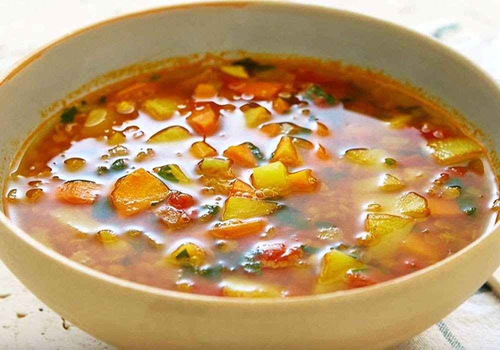 Овочевий суп із зеленню - покроковий рецепт, фото 1