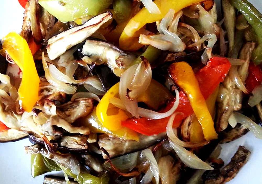 Овощное рагу вегетарианское - пошаговый рецепт, фото 1