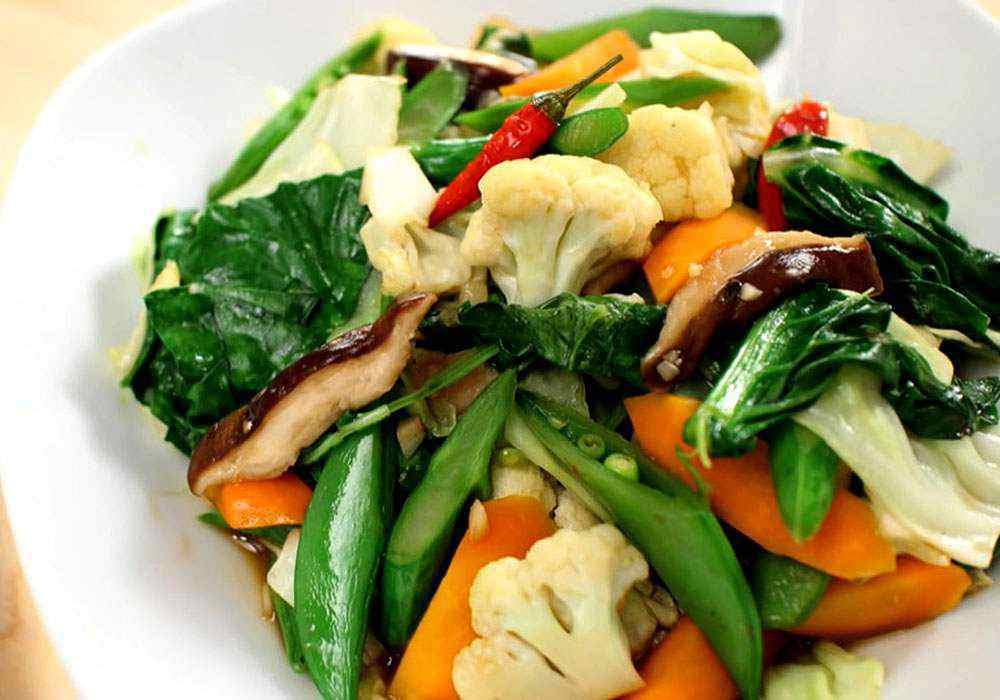 Овочеве асорті по-китайськи - покроковий рецепт, фото 1