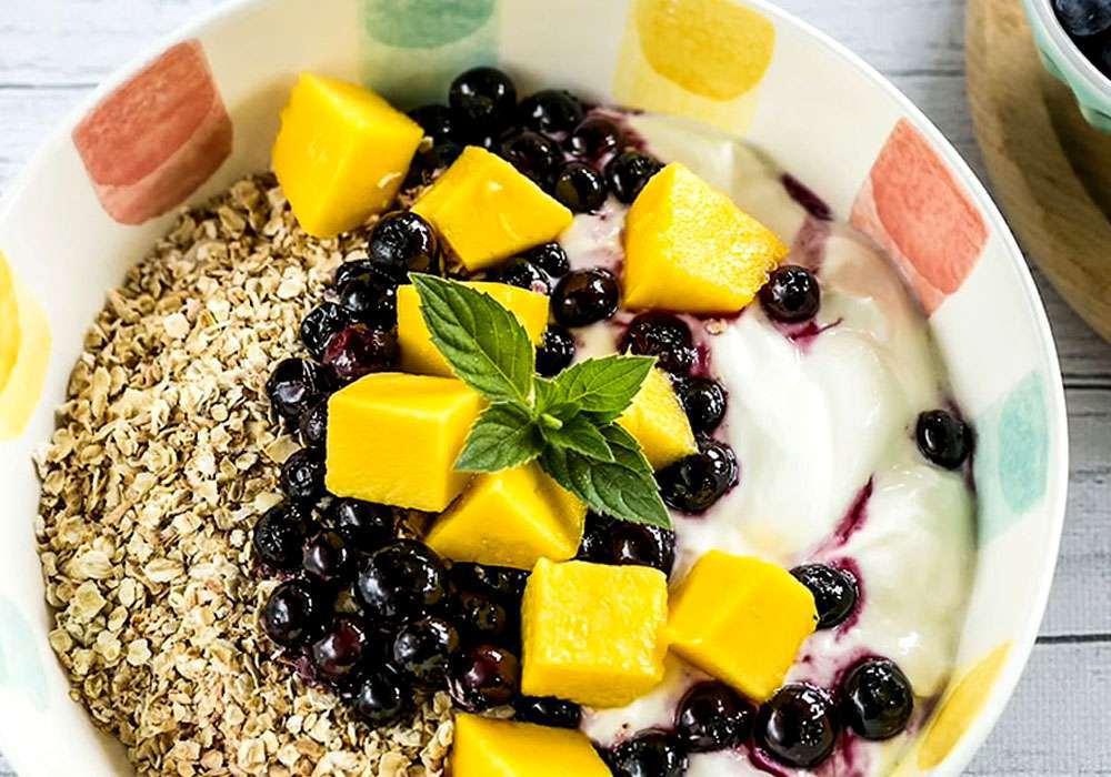 Овсяная каша c йогуртом - пошаговый рецепт, фото 1