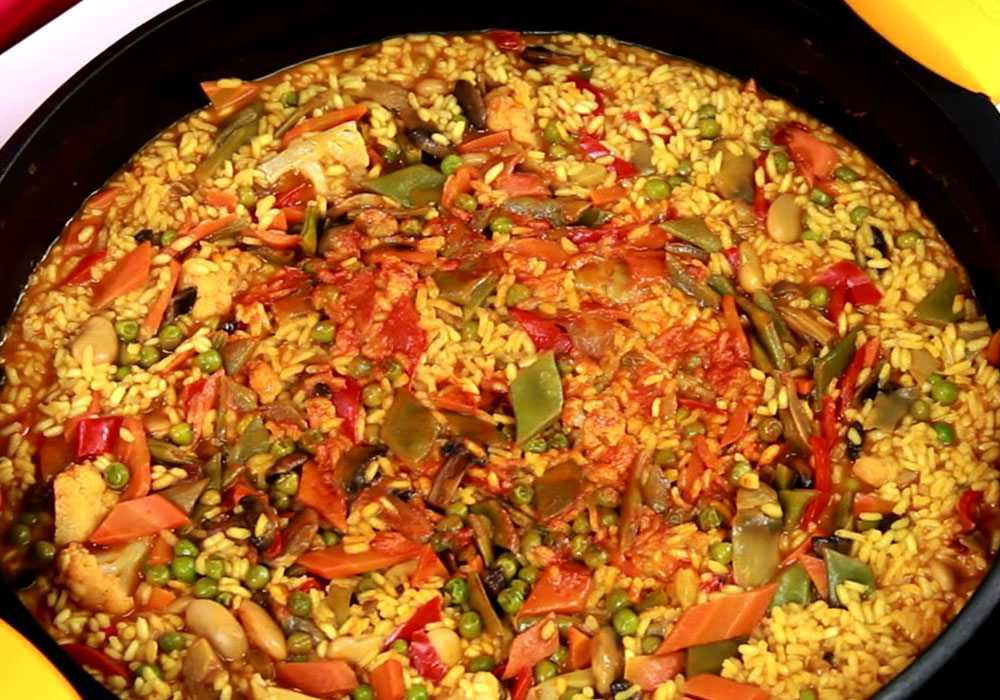 Паелья з овочами - покроковий рецепт, фото 1