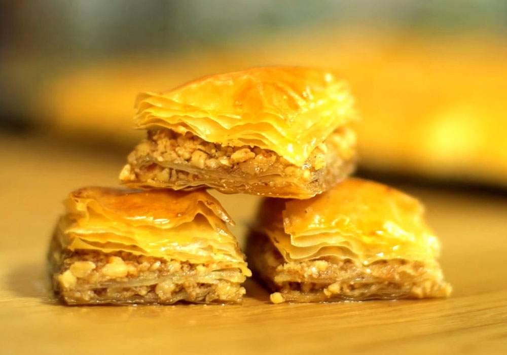 Пахлава из лаваша - пошаговый рецепт, фото 1