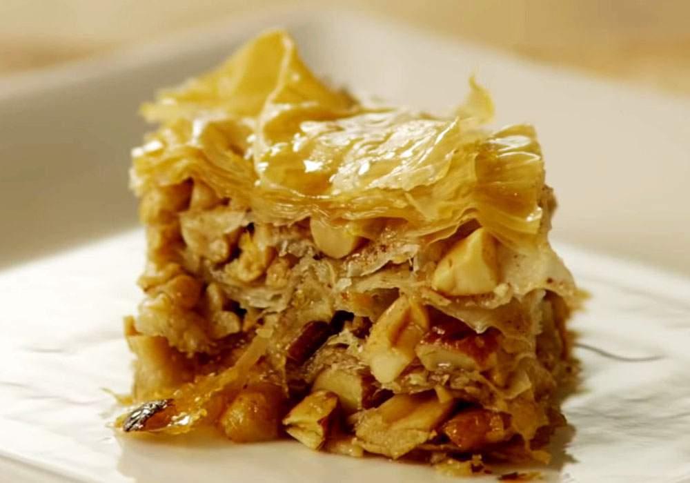 Пахлава з листкового тіста - покроковий рецепт, фото 1
