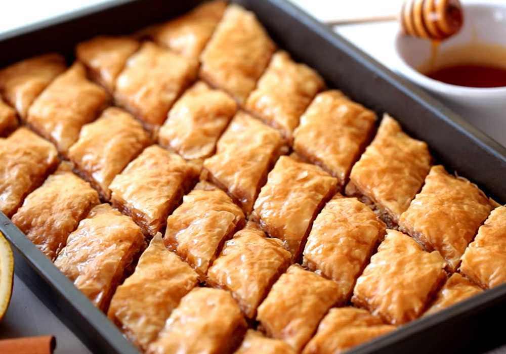 Пахлава с грецкими орехами - пошаговый рецепт, фото 1