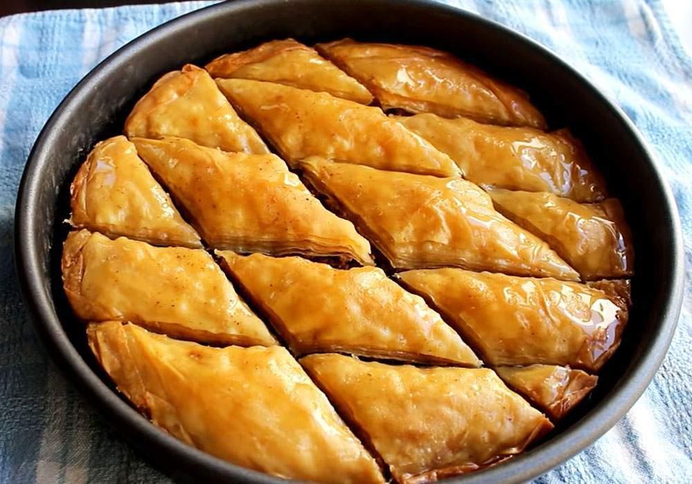 Пахлава з тістом філо - покроковий рецепт, фото 1