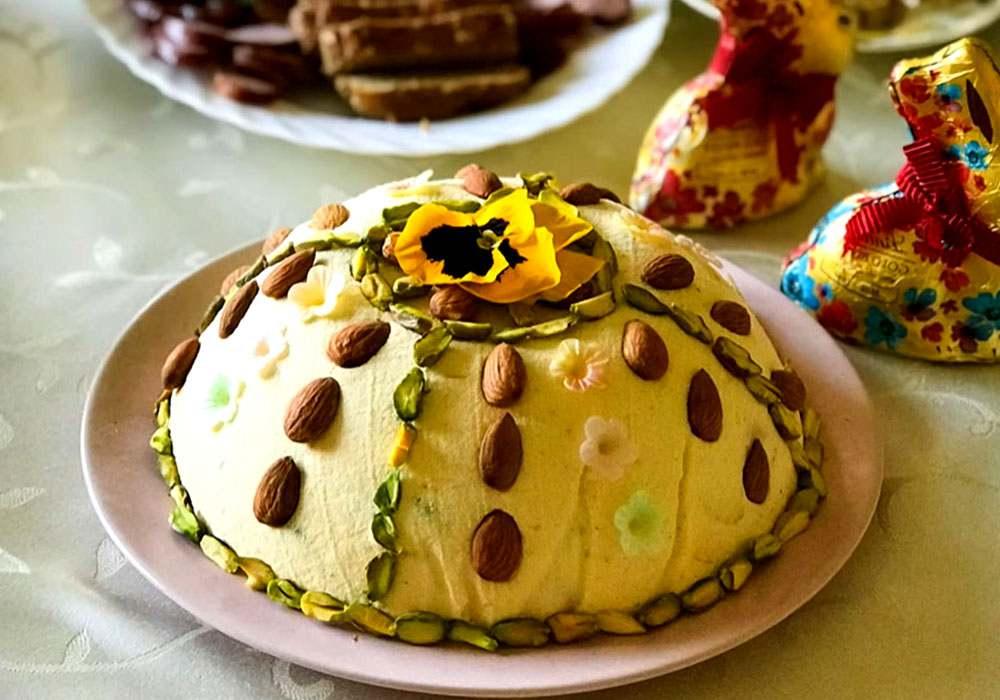 Пасха зі сметани і сиру - покроковий рецепт, фото 1