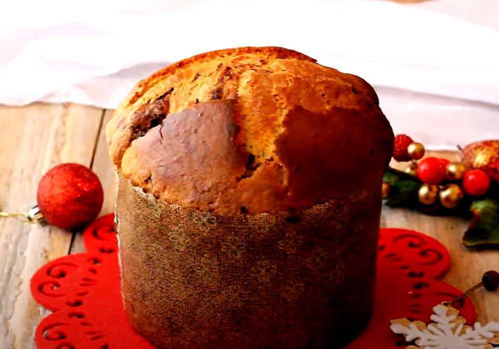 Пасхальный заварной кулич - пошаговый рецепт, фото 1