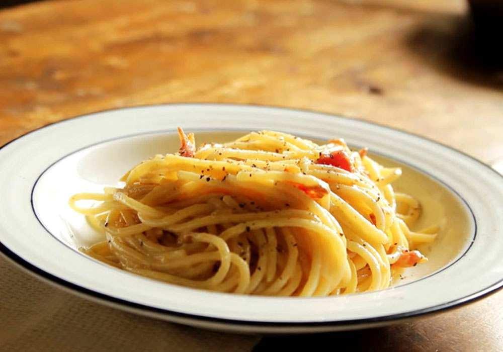 Паста Карбонара c пармезаном - пошаговый рецепт, фото 1
