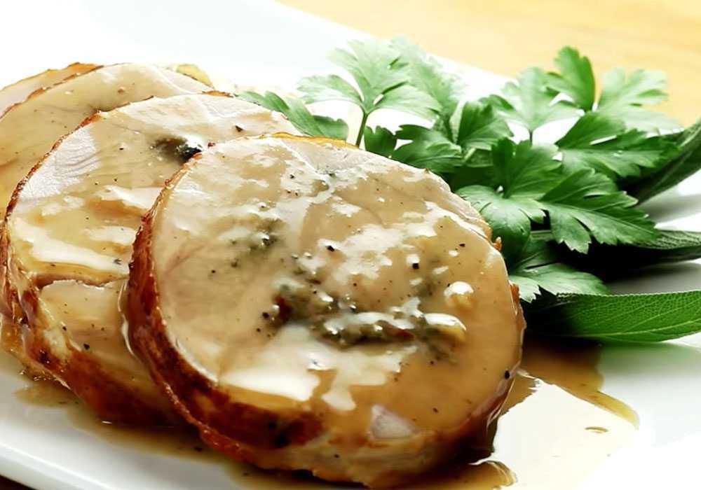 Пастрома из куриных грудок с травами - пошаговый рецепт, фото 1