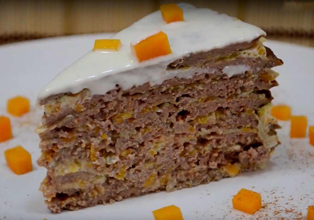 Печінковий торт із свинячої печінки - покроковий рецепт, фото 1