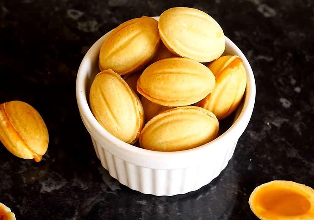 """Печенье """"Орешки"""" - пошаговый рецепт, фото 1"""