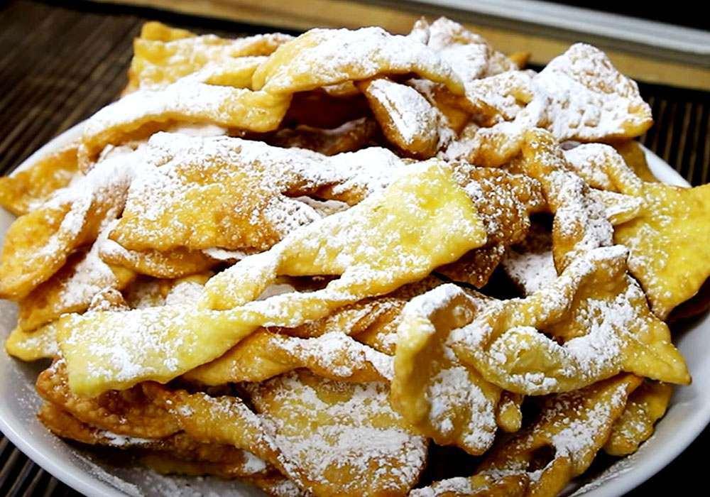 Печенье хворост - пошаговый рецепт, фото 1