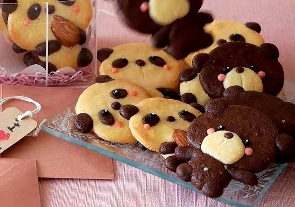 Печенье Мишки - пошаговый рецепт, фото 1