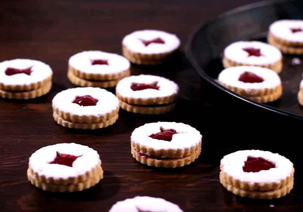 Печенье с вареньем - пошаговый рецепт, фото 1