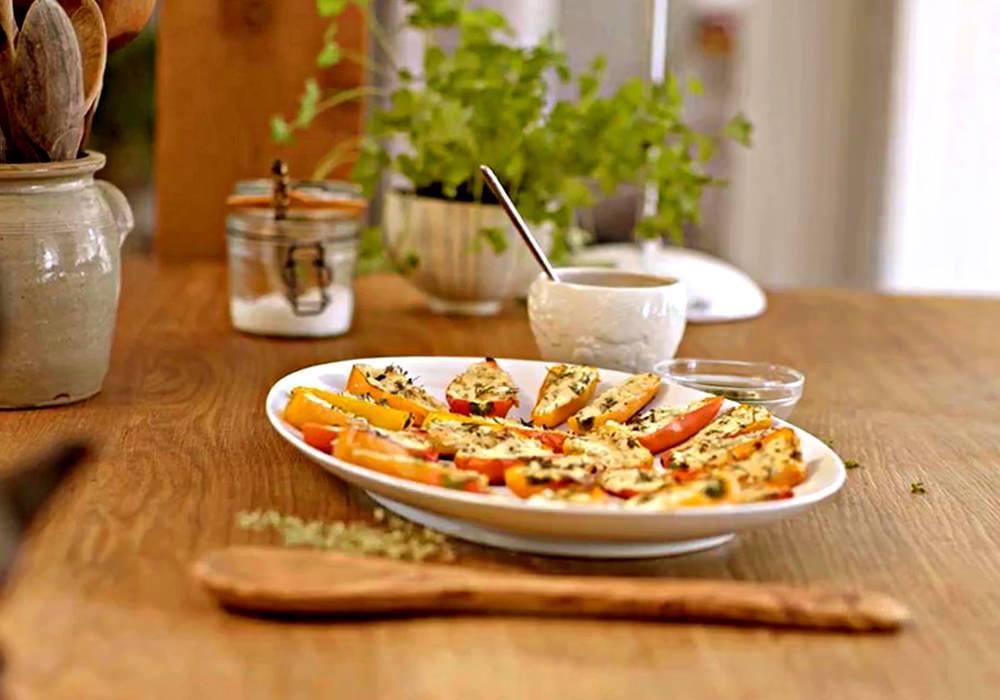 Перці фаршировані вегетаріанські - покроковий рецепт, фото 1