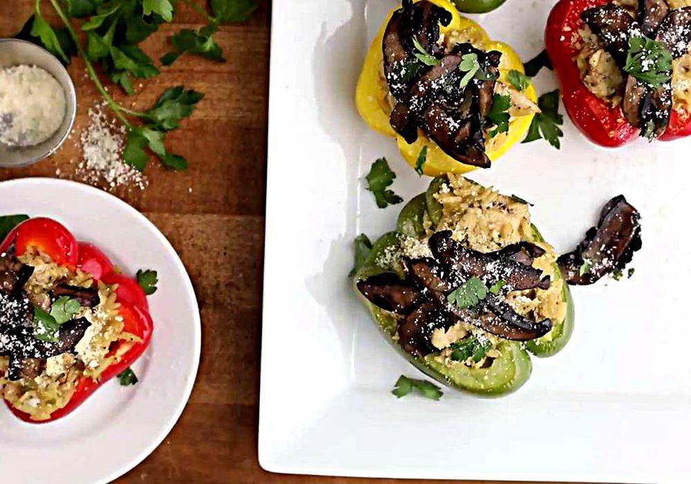 Перец фаршированный курицей - пошаговый рецепт, фото 1
