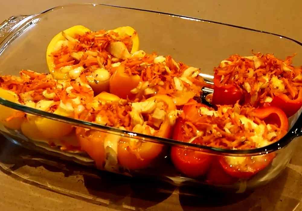 Перец фаршированный морковью - пошаговый рецепт, фото 1