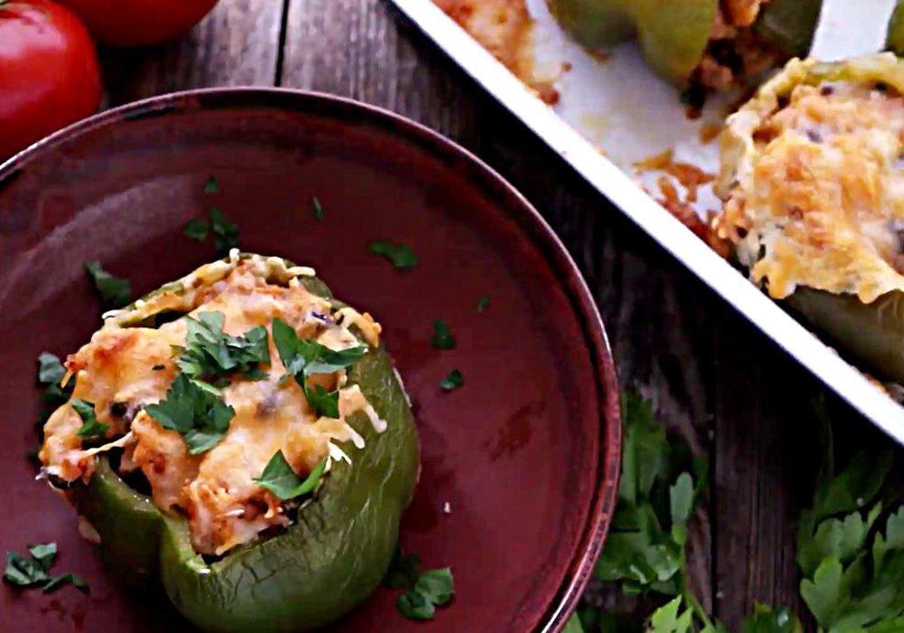 Перець фарширований овочами та рисом - покроковий рецепт, фото 1