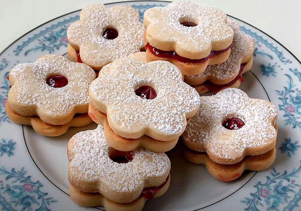 Песочное печенье с вареньем - пошаговый рецепт, фото 1