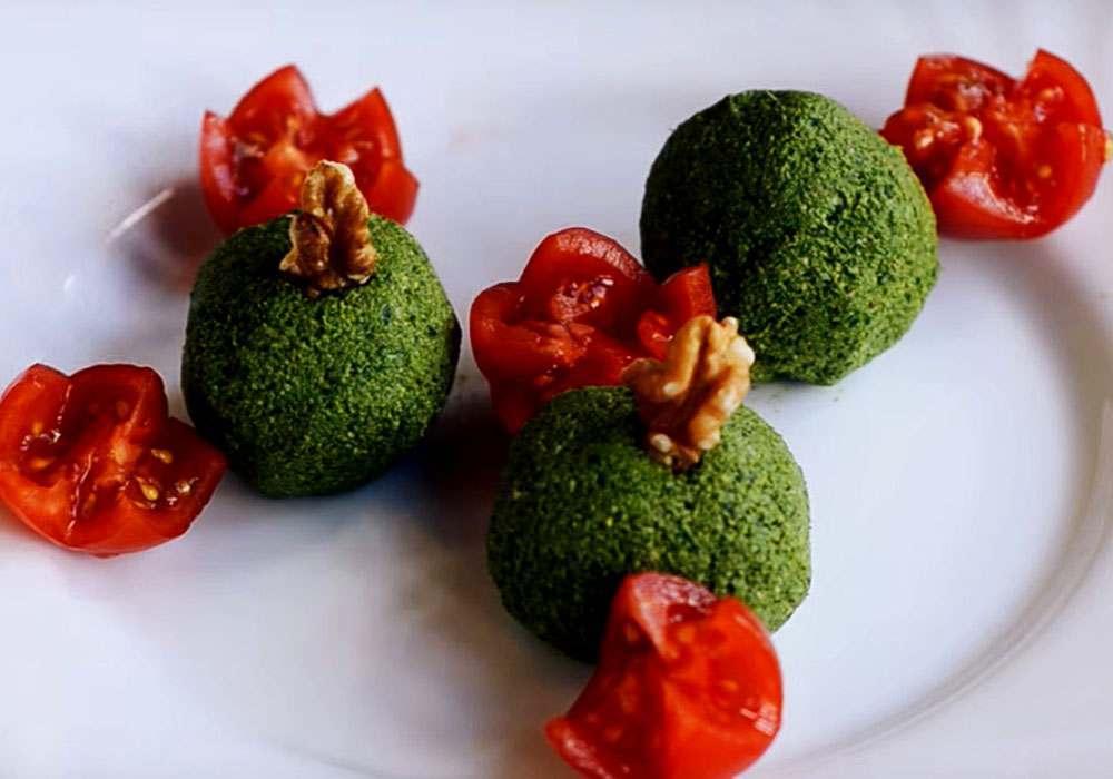 Пхалі зі шпинату - покроковий рецепт, фото 1