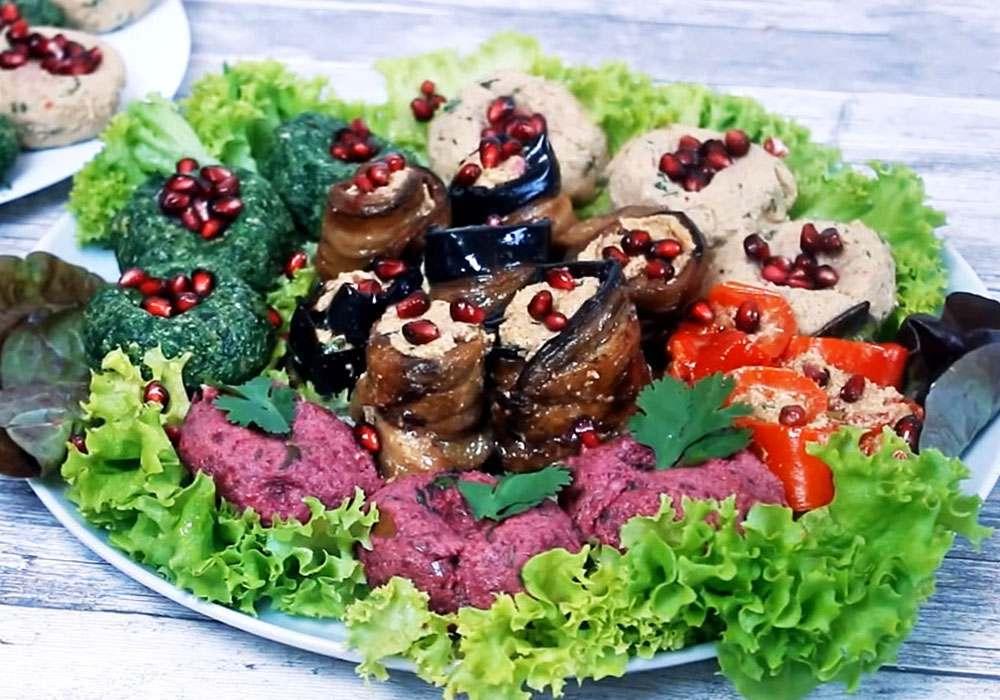 Пхалі з баклажанів - покроковий рецепт, фото 1