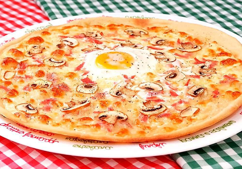 Пицца Карбонара - пошаговый рецепт, фото 1