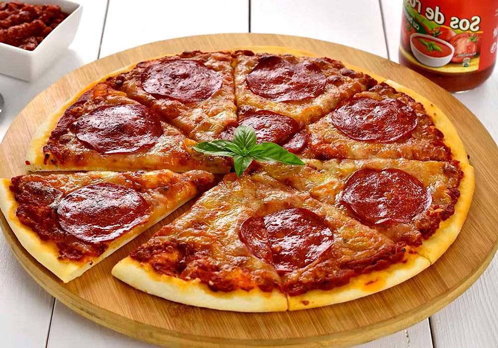 Пицца в домашних условиях - пошаговый рецепт, фото 1