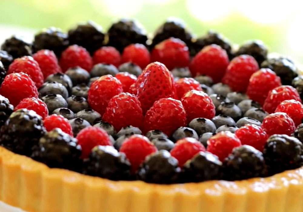 Пирог из песочного теста с ягодами - пошаговый рецепт, фото 1