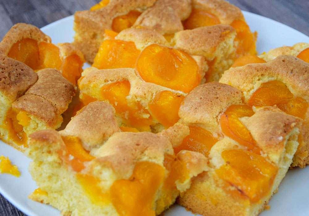 Пиріг з абрикосами - покроковий рецепт, фото 1
