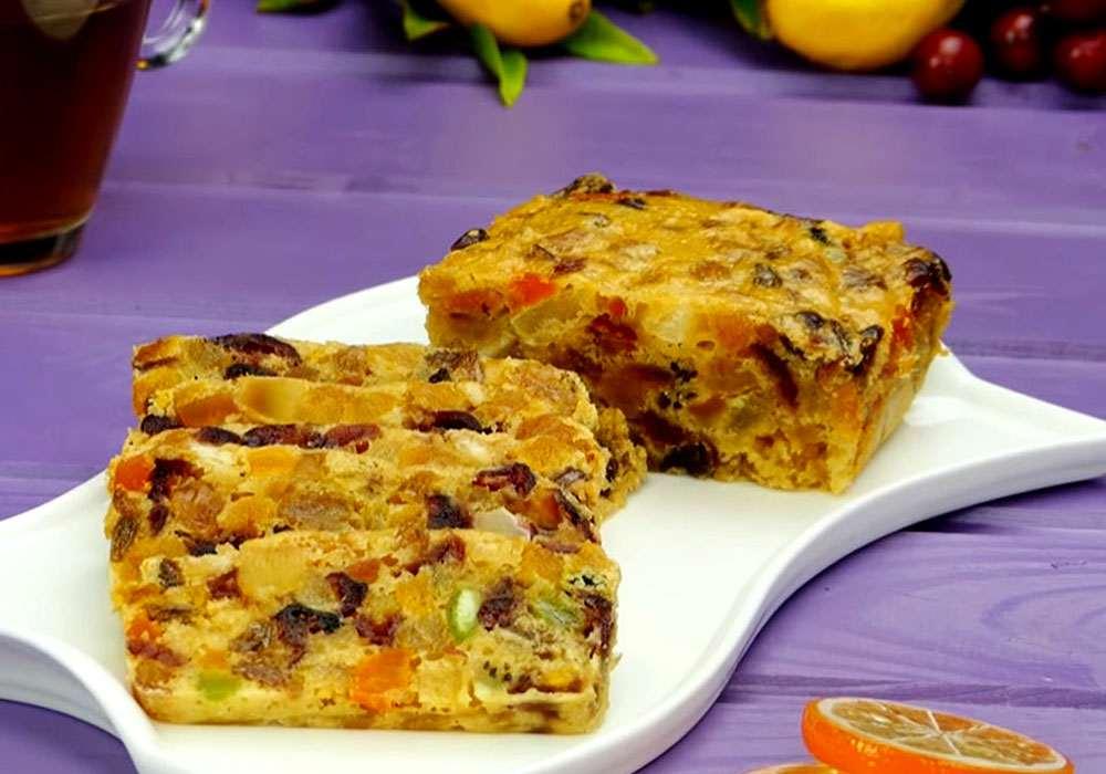 Пиріг з сухофруктами - покроковий рецепт, фото 1
