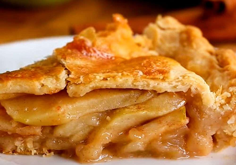 """Пирог """"Яблоки на снегу"""" - пошаговый рецепт, фото 1"""
