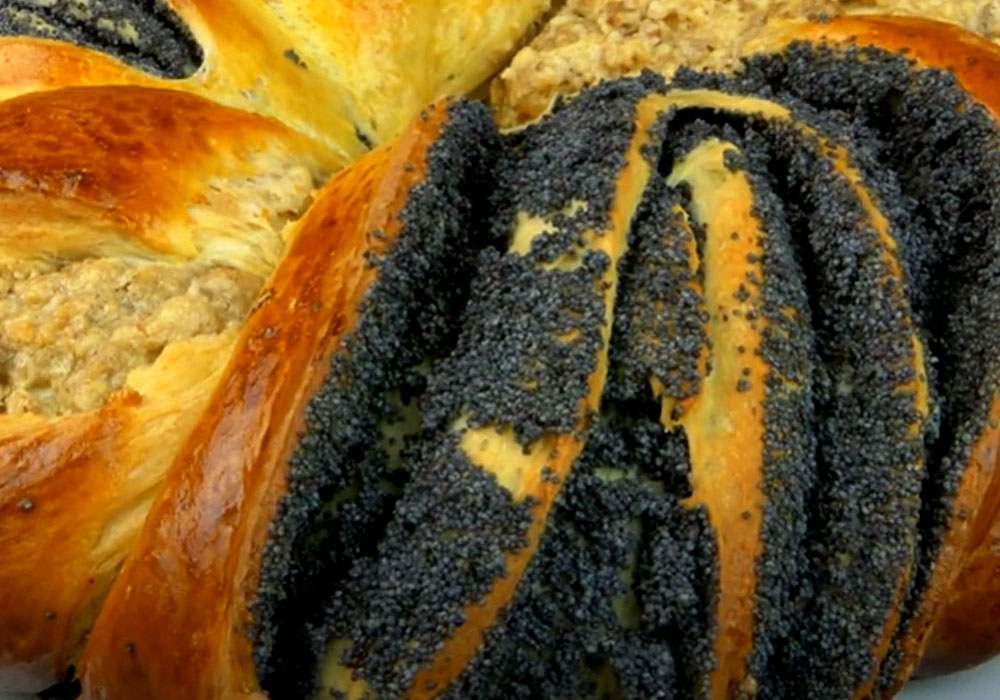 Плетенка с маком - пошаговый рецепт, фото 1