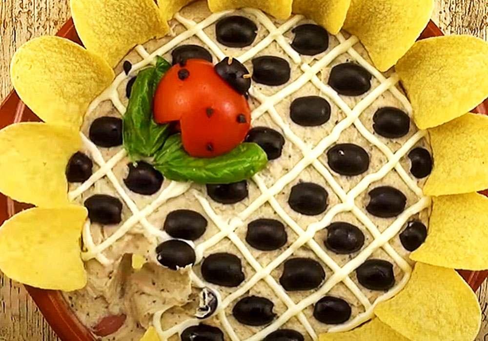 Подсолнух - пошаговый рецепт, фото 1