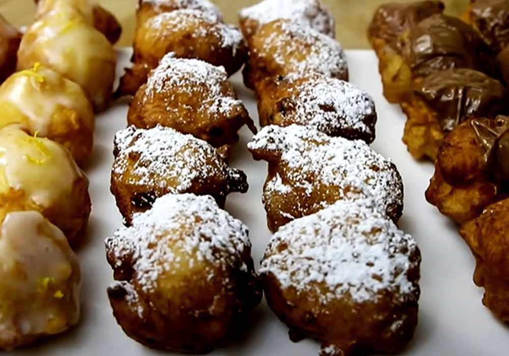 Пончики на кефире за 15 минут - пошаговый рецепт, фото 1