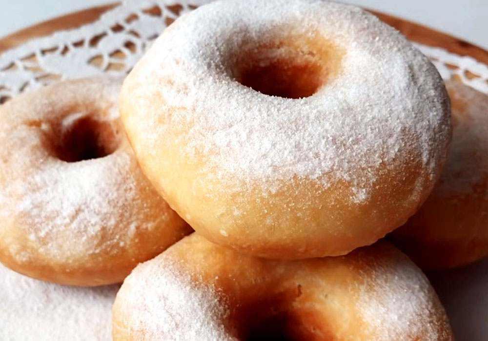 Пончики на воде - пошаговый рецепт, фото 1