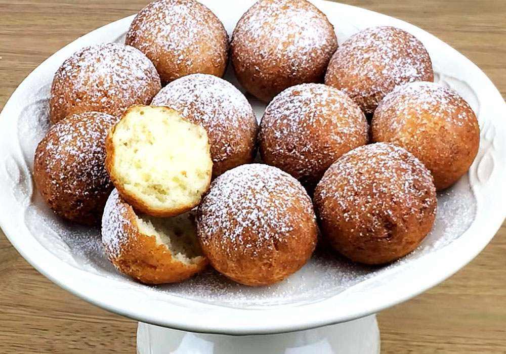 Пончики з сиру - покроковий рецепт, фото 1