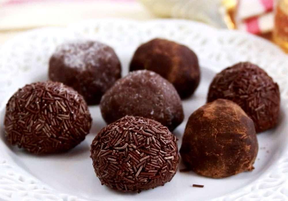Простые домашние конфеты - пошаговый рецепт, фото 1