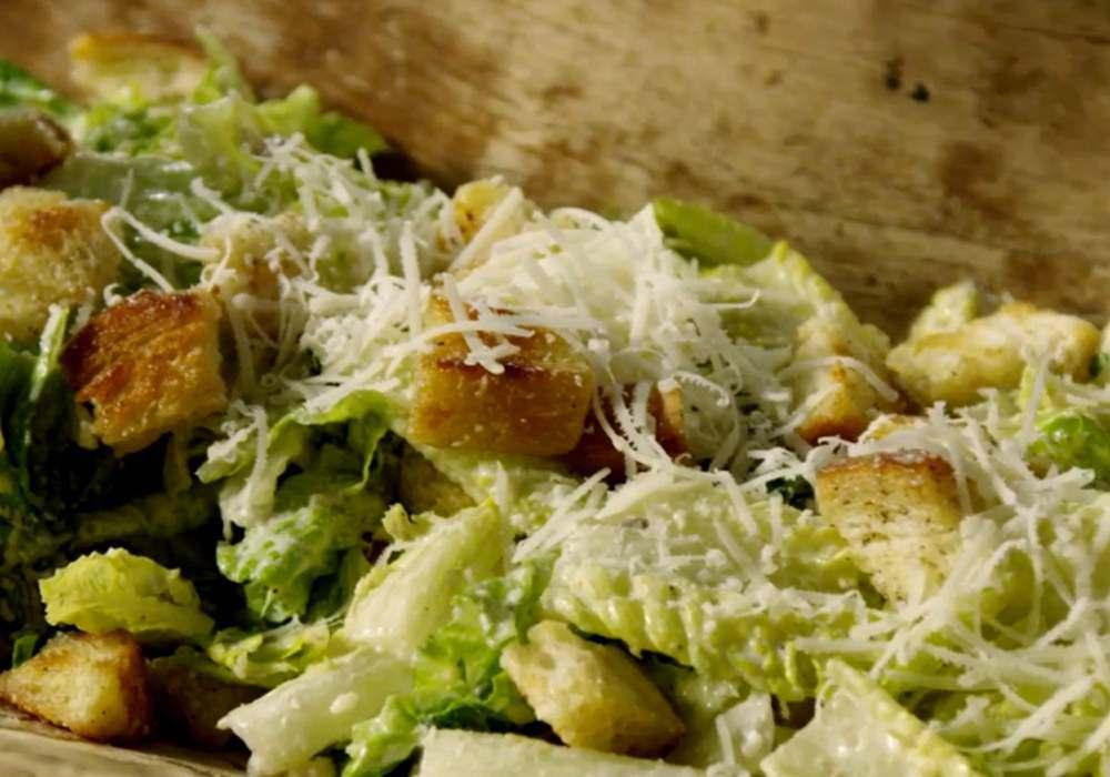 Простой салат цезарь - пошаговый рецепт, фото 1