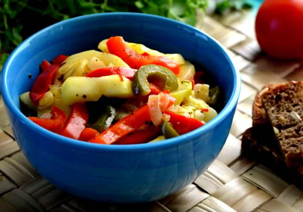 Простое овощное рагу - пошаговый рецепт, фото 1