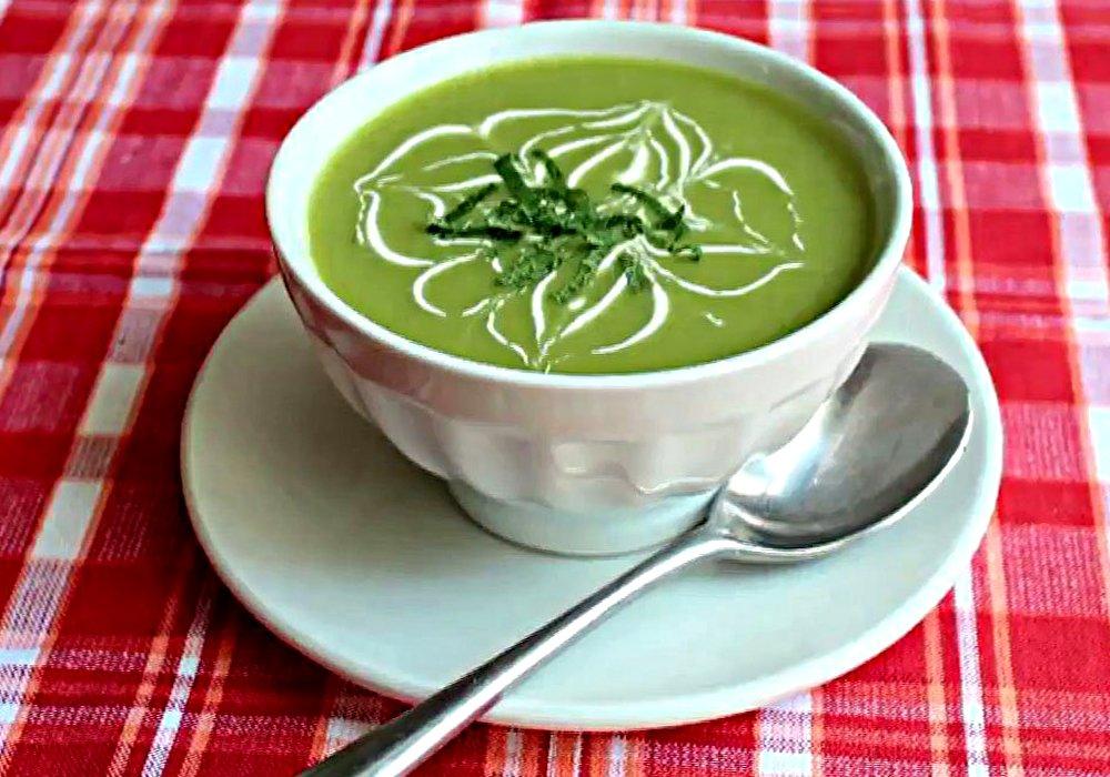 Пюре из зеленого горошка - пошаговый рецепт, фото 1