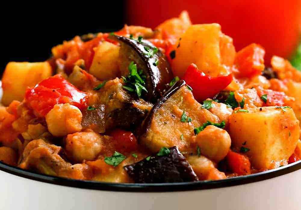 Рагу из баклажанов и картофеля - пошаговый рецепт, фото 1