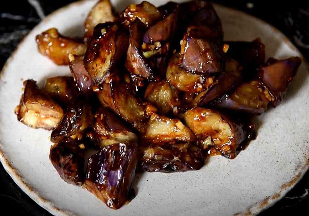 Рагу из баклажанов постное - пошаговый рецепт, фото 1