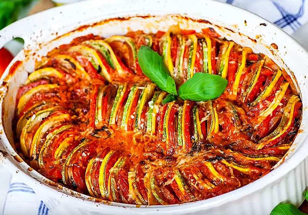 Рататуй в духовке с сыром - пошаговый рецепт, фото 1