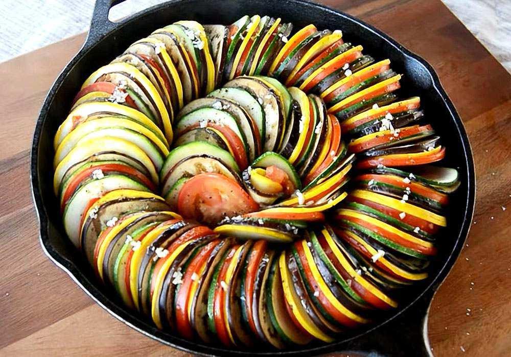 Рататуй в сковороде - пошаговый рецепт, фото 1
