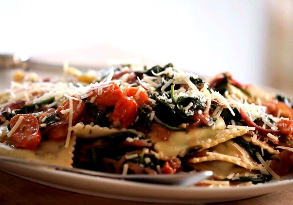 Равіолі зі шпинатом - покроковий рецепт, фото 1