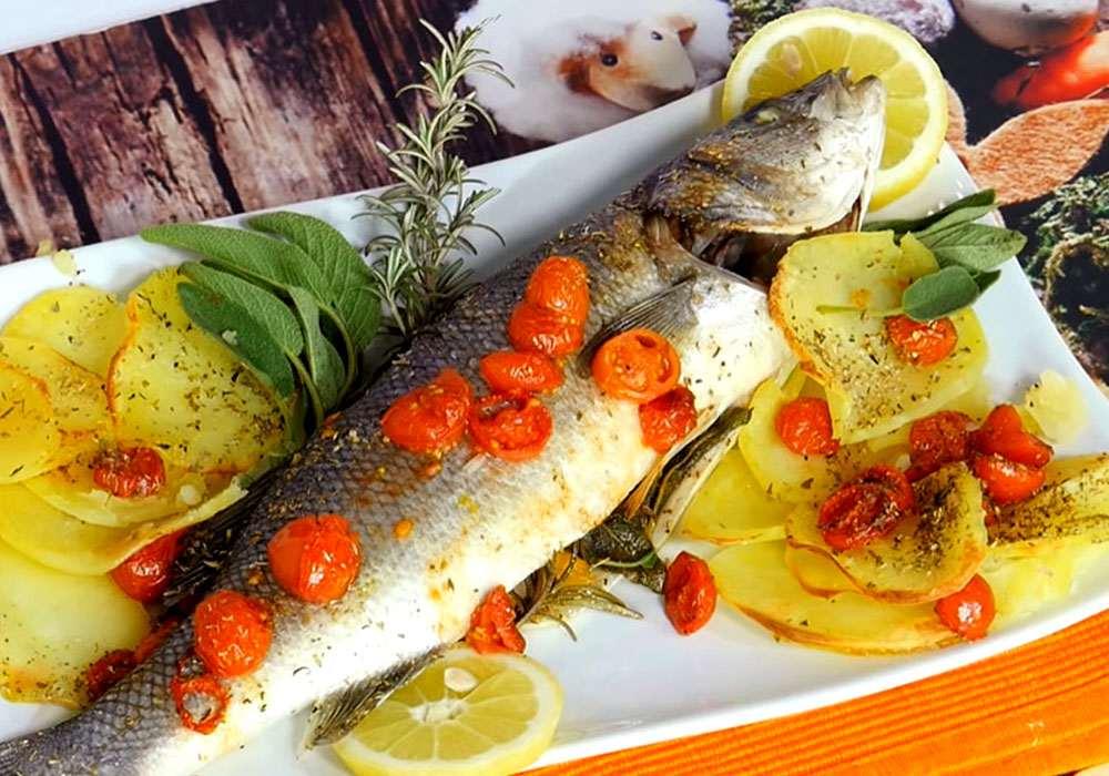 Риба запечена в духовці - покроковий рецепт, фото 1