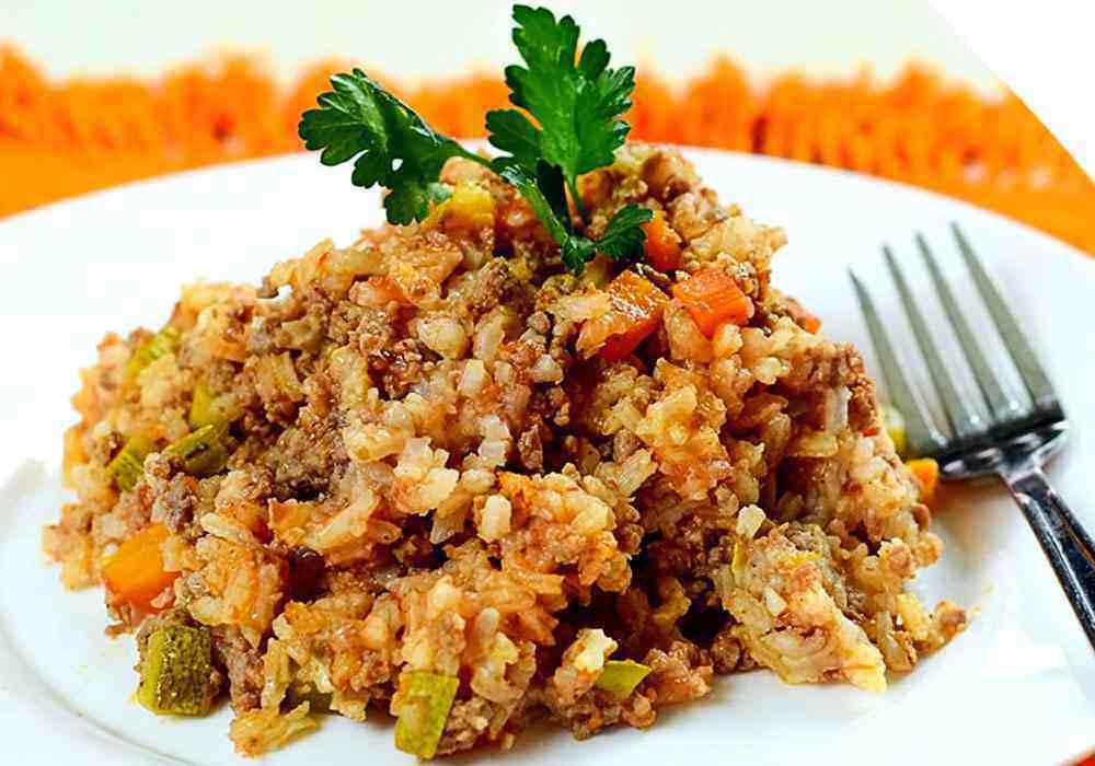 """Рис с фаршем """"по флотски"""" - пошаговый рецепт, фото 1"""
