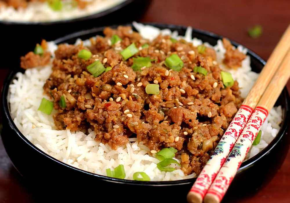Рис с фаршем - пошаговый рецепт, фото 1