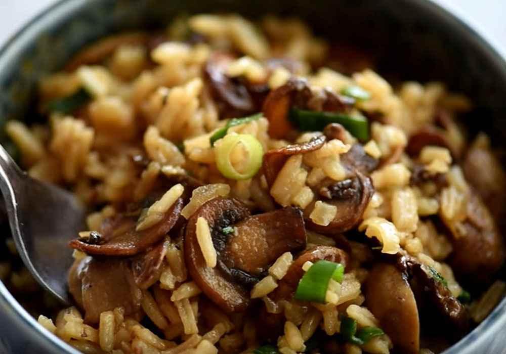 Рис з грибами - покроковий рецепт, фото 1